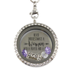 Praying Woman Charm Locket
