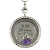 He Loves Us Charm Locket