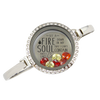 Fire in My Soul Bangle Bracelet