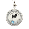 Shih Tzu Mom Charm Necklace