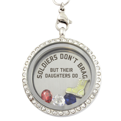 Soldier Daughters Brag Necklace