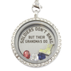 Soldier Grandmas Brag Charm Necklace