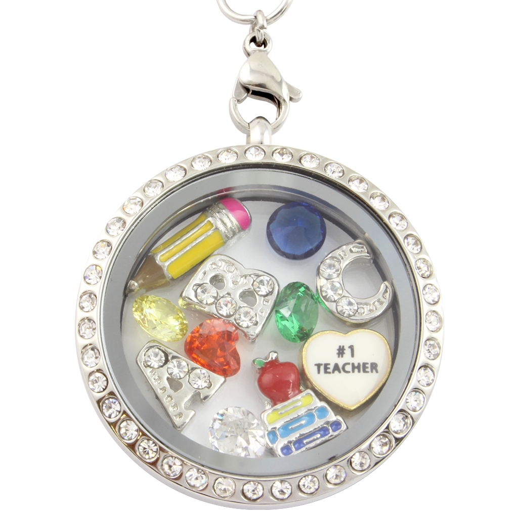 in teacher htm nl charm silver lockets necklace p