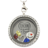Teaching is a Work of Heart Charm Necklace