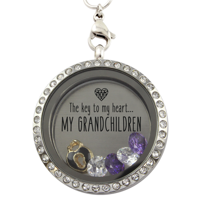 Grandchildren Are the Key to My Heart Locket