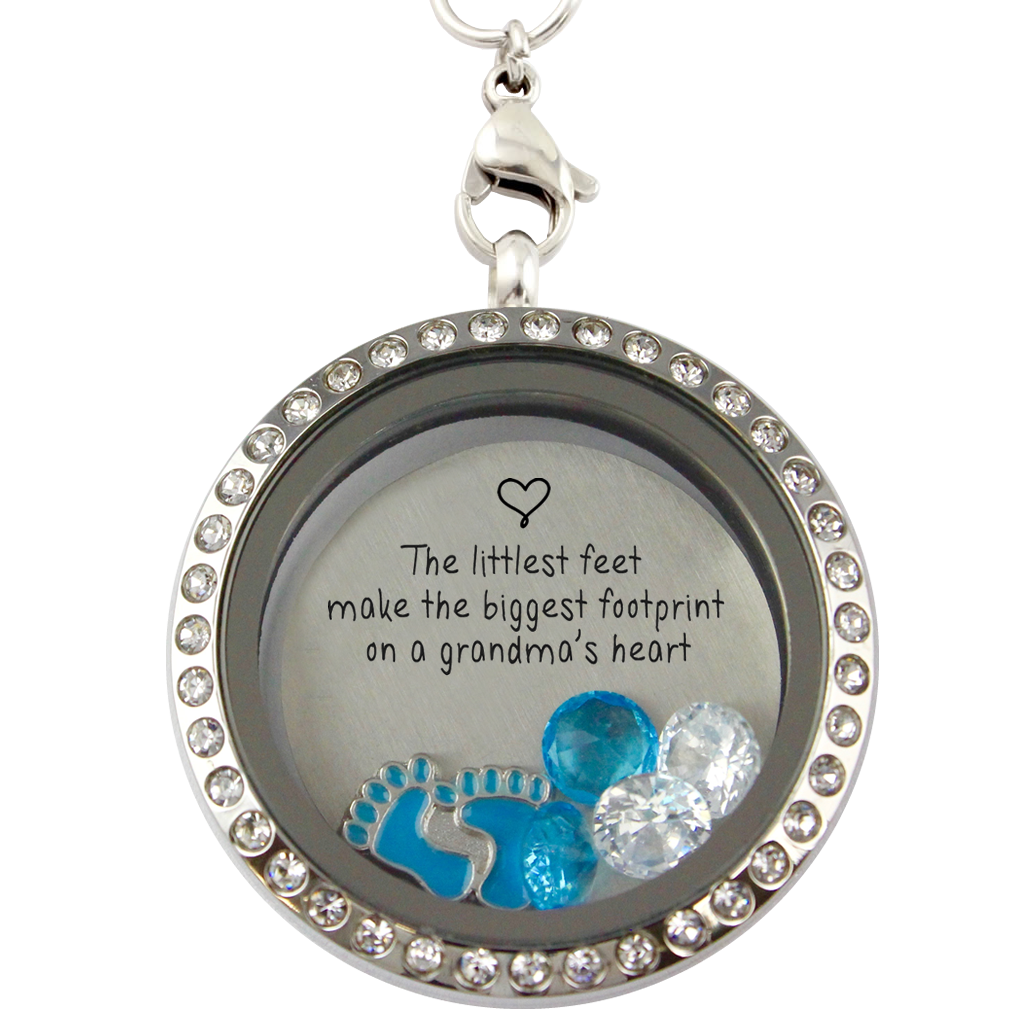 grandma necklace sweet in memory necklaces locket product lockets