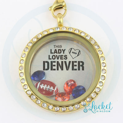 This Lady Loves Denver Football