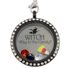 Witch Way to the Candy Halloween Charm Necklace