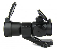 Tacfire 1X30 Tri Illumination Red Dot Sight with Cantilever Mount
