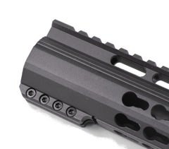"JTM Sports 12"" Keymod Handguard Clamp-On Style w/ 3 Piece Rail Attachment"