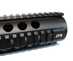 "JTM Sports 15"" Tactical T-Series 4/15 Free-Float Quad Rail"