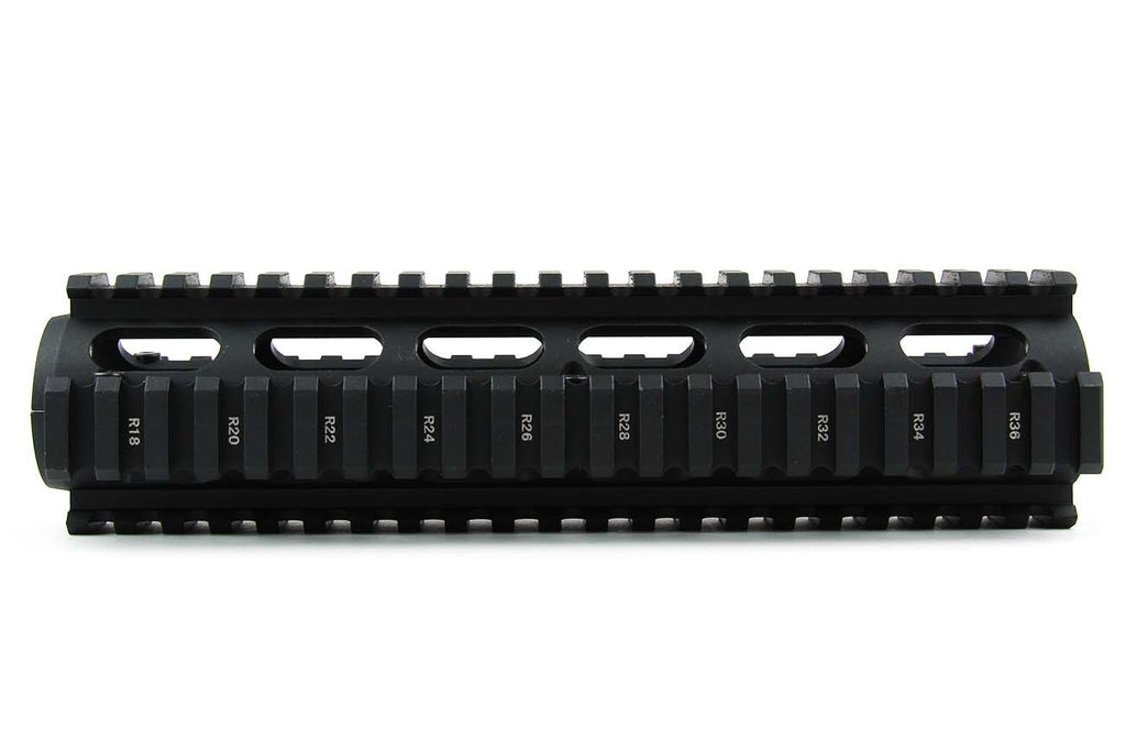 "Tacfire AR15 9"" 2-Piece Drop-In Quad Rail"