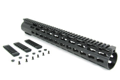 "Tacfire AR10 15"" Ultra Slim Keymod Free-Float Clamp-On Handguard"