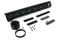 "Tacfire AR15 Free-Float Qual Rail 15"" with Detachable Rails"