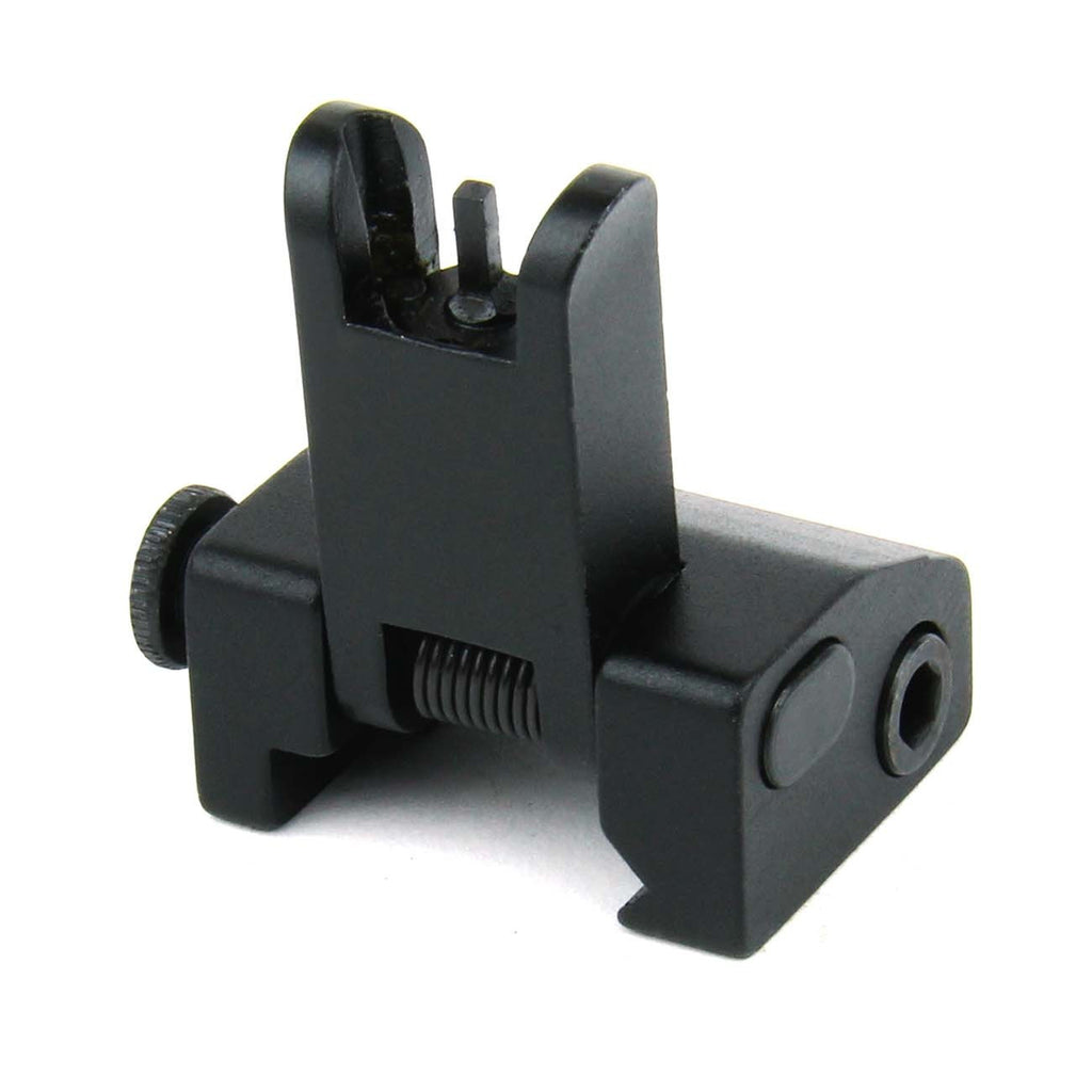 Tacfire AR Front Flip-Up Iron Sight Combo/Spring Loaded