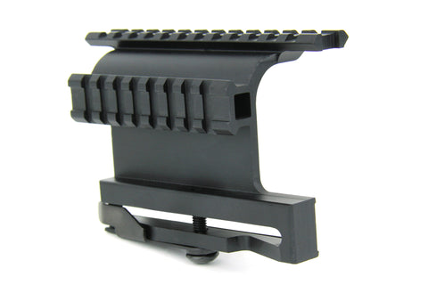Tacfire AK Double Side Rail Mount with Quick Detach Lever