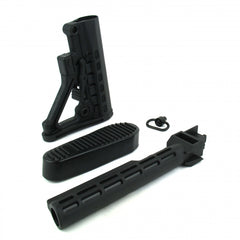 Tacfire AK 6 Position Stock Kit with Buttpad