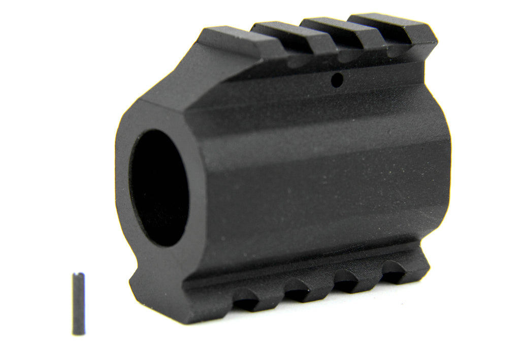 Tacfire AR15/.750 Low Profile Gas Block-Mil-Spec with Top/Bottom Rail