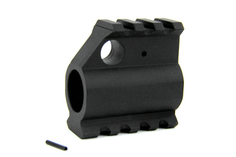 Tacfire AR15/.750 High Profile Gas Block-Mil-Spec with Top/Bottom Rail