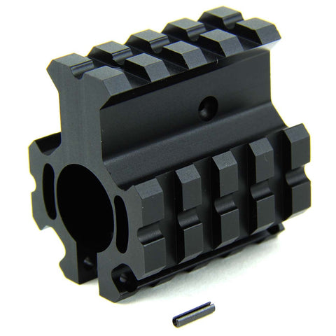 Tacfire AR15/.750 High Profile Quad Rail Barrel/Gas Block/Clamp-On