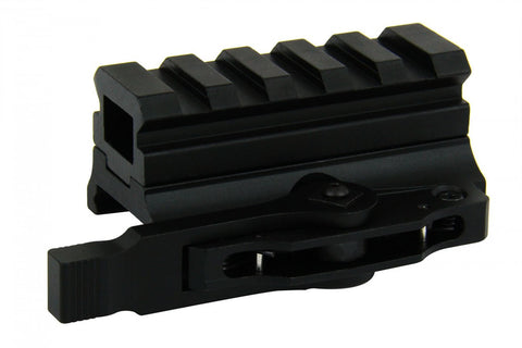 "Tacfire AR15 Compact 13/16"" Medium Riser Mount with Quick Release"