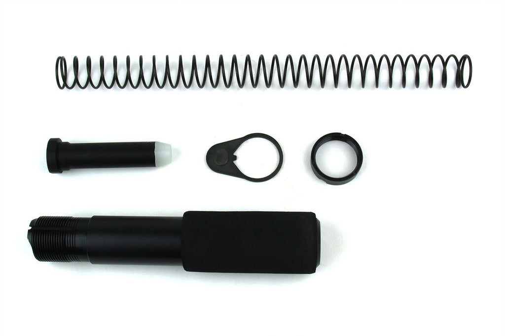 Tacfire AR15 Pistol Buffer Tube Kit with Regular End Plate