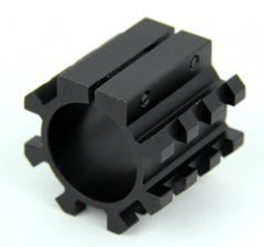 "Tacfire 5 SIDE 1"" Shotgun Magazine Tube Mount/Picatinny"