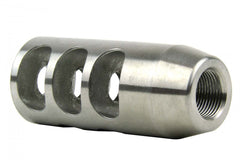 "Tacfire .223/.556 1/2""X28 TPI Compact Size Muzzle Brake/Stainless Steel"