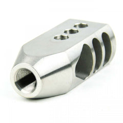 "Tacfire .308 5/8""X24 Thread Tanker Style Muzzle Brake/Stainless Steel"