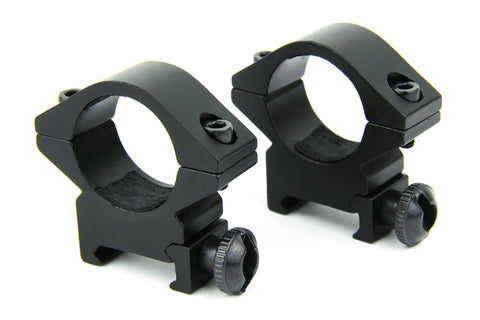 "Tacfire 1"" Rings/Low Profile Scope Rings"