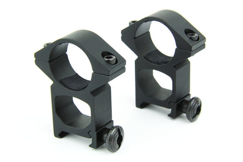 "Tacfire 1"" Rings/High Profile Scope Rings"