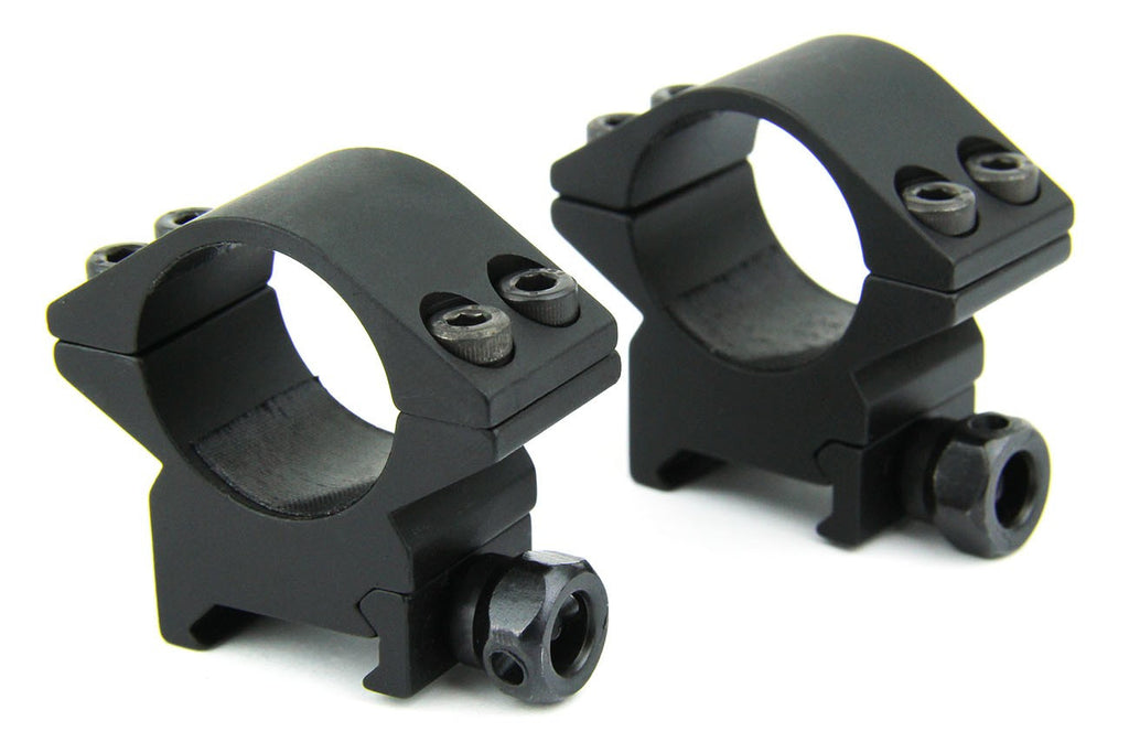 "Tacfire 1"" Rings/Low Profile Scope Rings (HEAVY DUTY)"