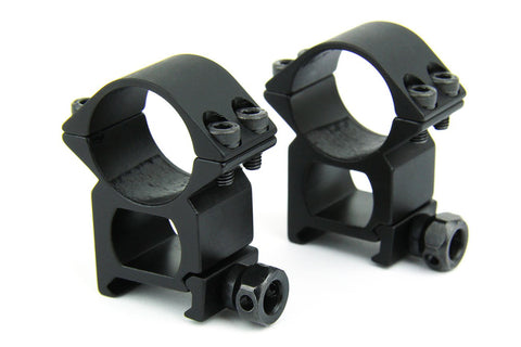 "Tacfire 1"" Rings/Medium Profile Scope Rings (HEAVY DUTY)"