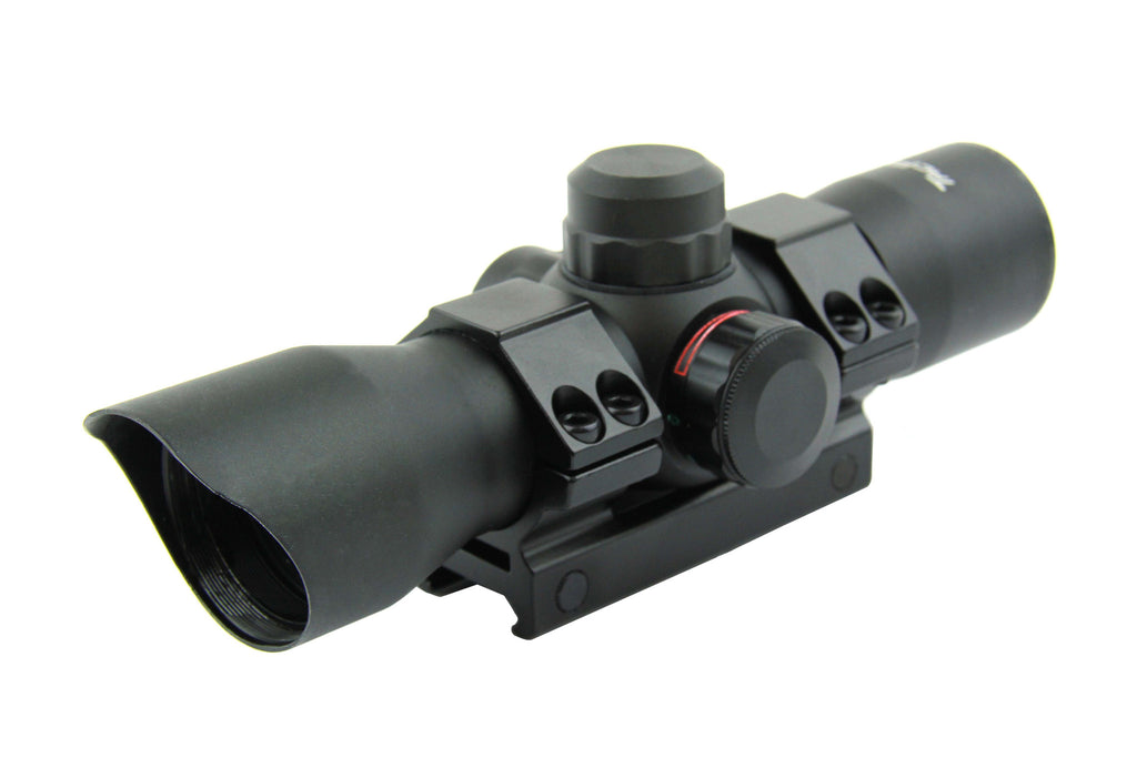 Tacfire 1X35 Dual Illumination Compact Rifle Scope/Dot Reticle