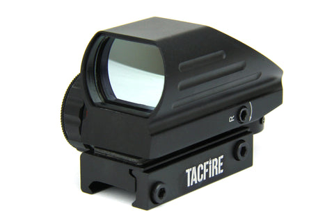 Tacfire Dual Illumination Reflex Sight 4 Reticles/Extended Housing