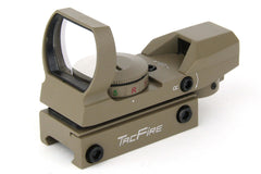 Tacfire Dual Illumiantion Reflex Sight 4 Reticles