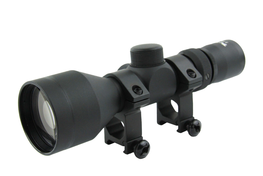 Tacfire 3-9X42 Compact Scope with Set of Rings