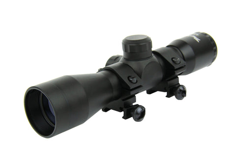 Tacfire 4X32 Compact Scope with Set of Rings