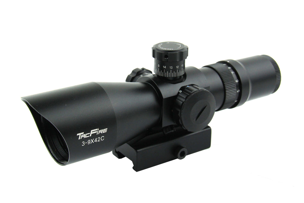 Trinity 3-9X42 Tri Illumination 30MM Riflescope with Set of Rings