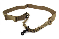 Tacfire Single Point Bungee Rifle Sling/Tan
