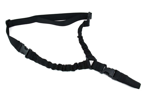 Tacfire One Point Bungee Rifle Sling/Black
