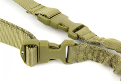 Tacfire One Point Bungee Rifle Sling/Tan