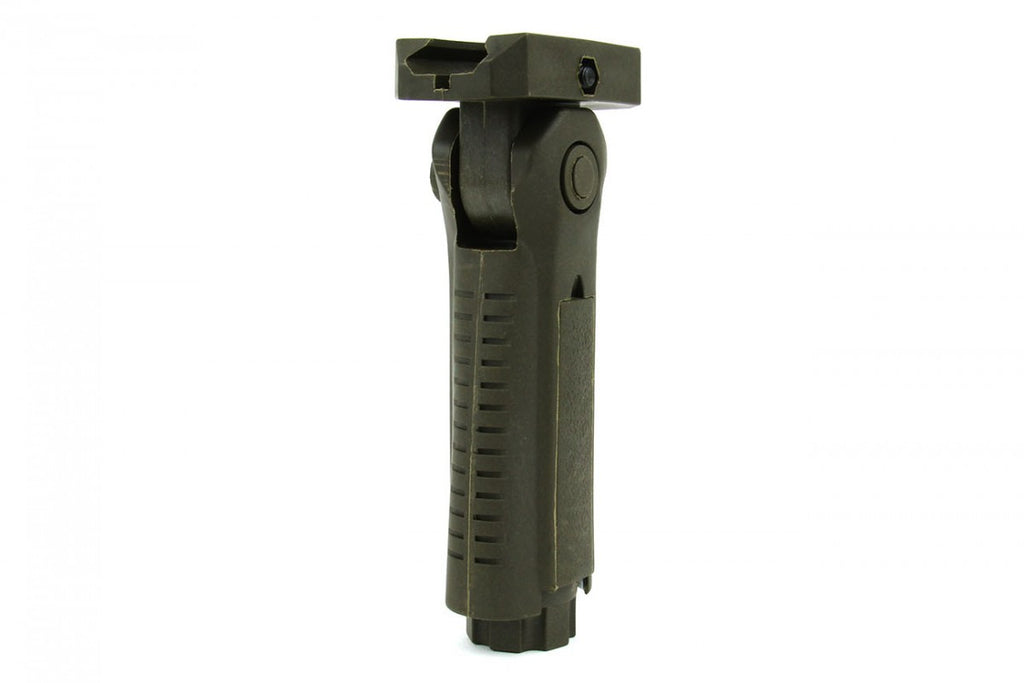 Tacfire 5 Position Foldable Grip/OD Green