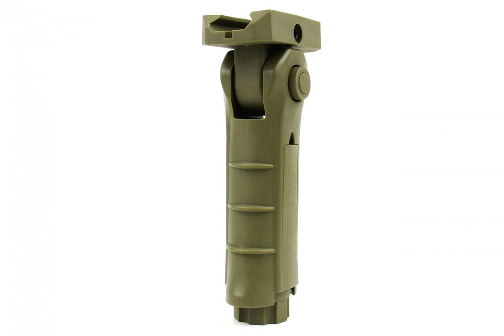 Tacfire 5 Position Foldable Grip/Tan