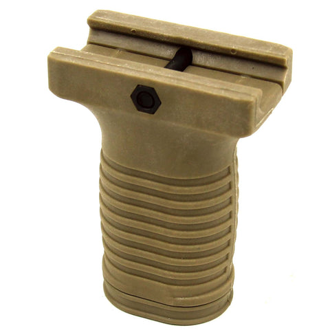 Tacfire Short Foregrip/Tan (POLYMER)
