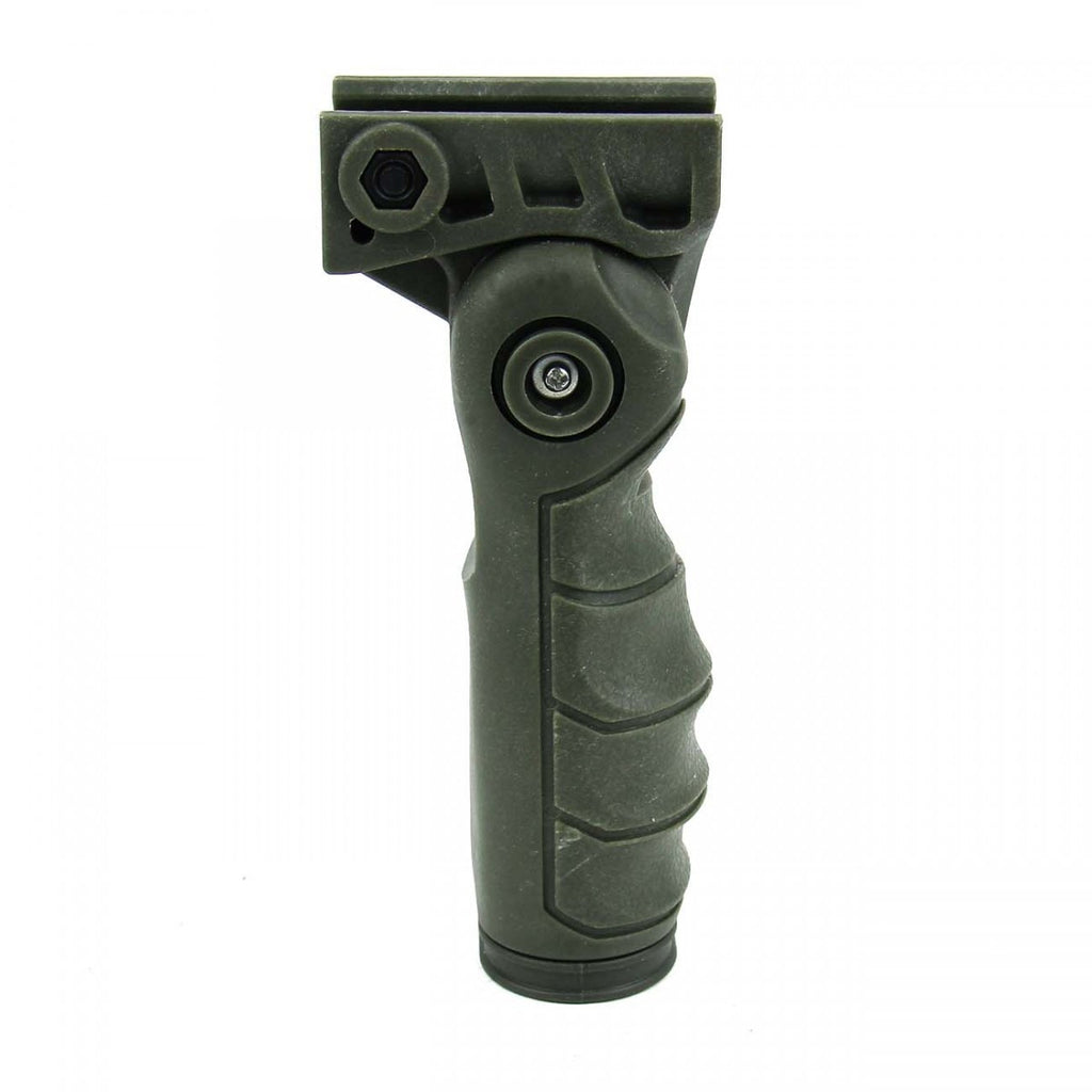 Tacfire 5 Position Ergonomic Foldable Grip/OD Green