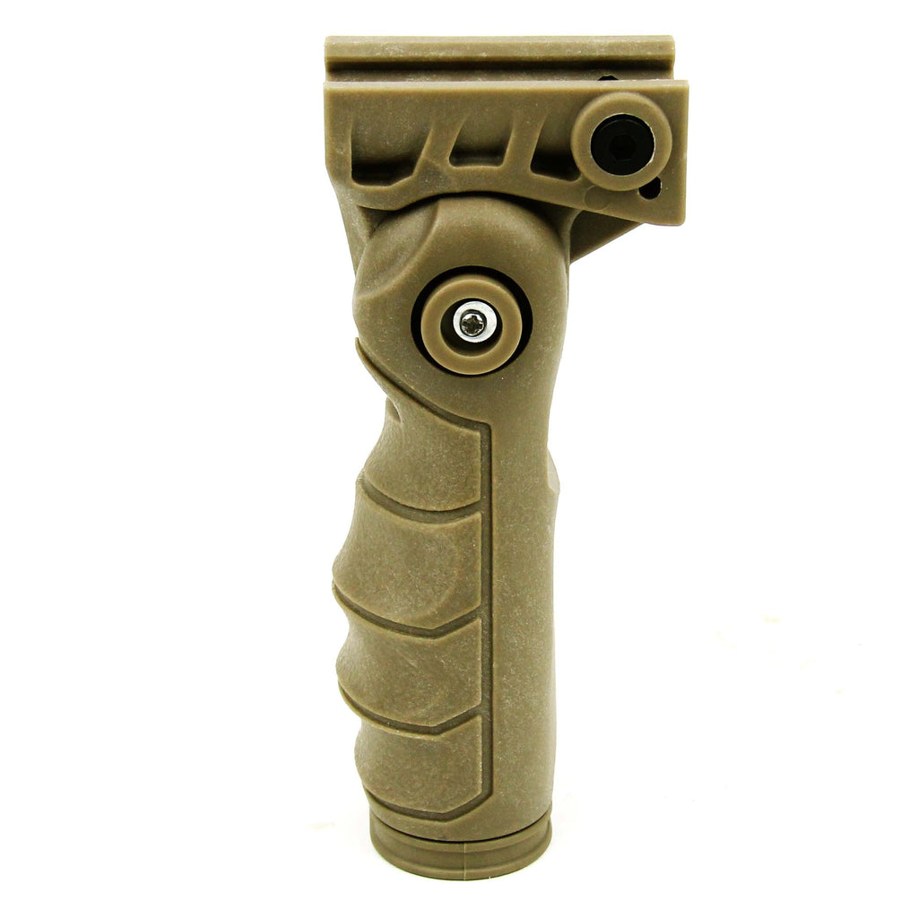 Tacfire 5 Position Ergonomic Foldable Grip/Tan