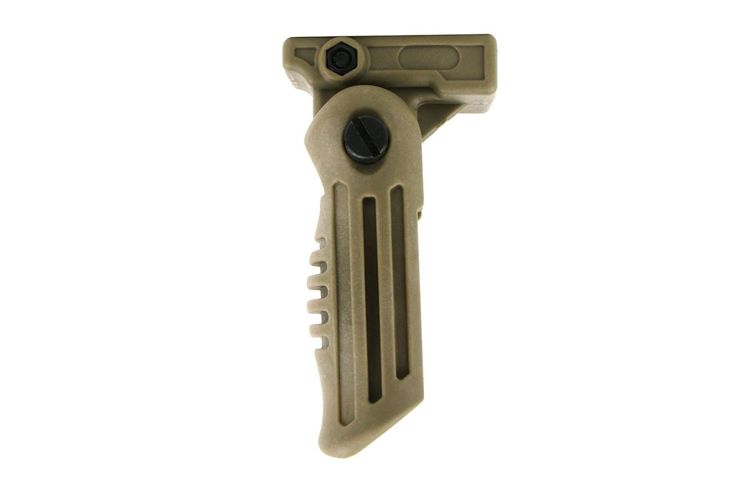 Tacfire 4 Position Foldable Foregrip/Tan