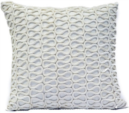 White - Linen /Creme Pillow - CITY LIFE CATALOG