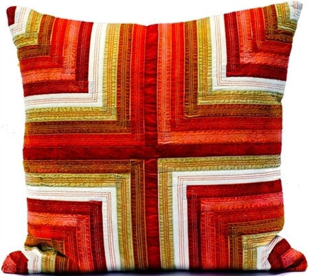 Red- Ribbon Velvet Pillow - CITY LIFE CATALOG